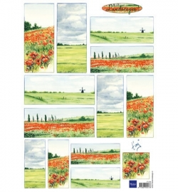 Tiny's Landscapes 1 (red) IT576