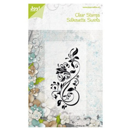 Joy! clearstamp swirl 6410/0074