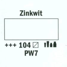 Amsterdam Acrylverf 20ml 104 zinkwit