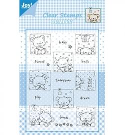 Joy! Clearstamp  Beren met tekst-sweet-baby 6410/0321