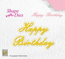 NS Shape Dies - Happy Birhtday SD095