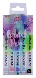 Ecoline Brush pen set Pastel