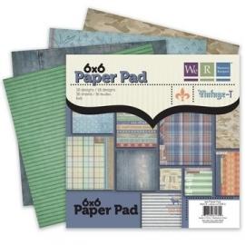 Paper pad Vintage T 15,2X15,2 / 36 VL