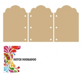 Dutch Doobadoo Dutch MDF art drieluik ornament 14x28,5cm