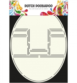 Dutch Card Art Pop up card oval  470.713.304