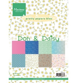Pretty Papers - A5 - Don & Daisy PK9107