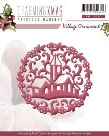 Precious Marieke stencil Charming Xmas - Village Ornament PM10037