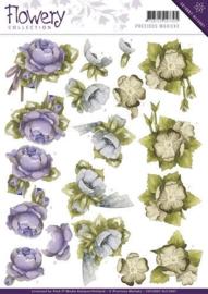 3D Knipvel - Precious Marieke - Flowery - Floral Corner CD10667