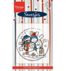 Marianne Design  Snoes & snowman HM9473