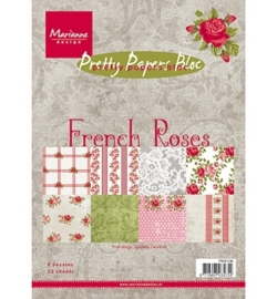 Pretty Papers - A5 - French Roses PK9106