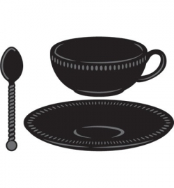 MD CRaftables CR1238 Tea cup with spoon