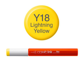 Copic ink Reffil  Lightning Yellow Y18