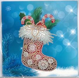 Kerst Kerstsok 15 x 15 cm