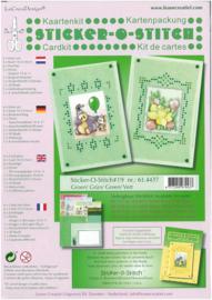 Kaartkit Sticker-O 61.4437 Mint groen