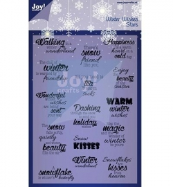Joy! Christmas stamps 6410/0124