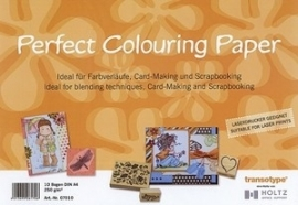 Perfect colouring paper 10st  A4