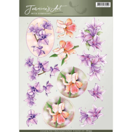 Jeanine's Art - With Sympathy -Sympathy flowers CD10915