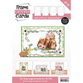 Frame Layered Cards 17- A6 + Stickervellen