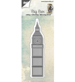 Joy! Cutting  & embossing Big Ben London 6002/0572