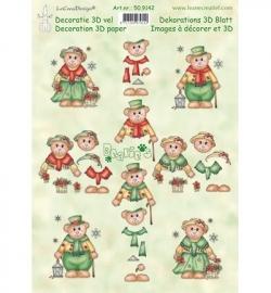 Bearie`s Christmas Leane Creatief