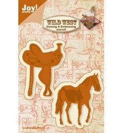 Joy! Cutting & Embossing - Paard / zadel 6002/0424