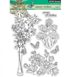 Penny Black Clearstamp Sunny wishes 30344