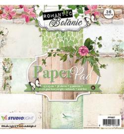 Studio Light Paperpad  Romantic Botanic nr.57