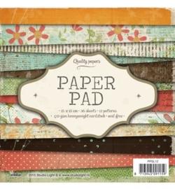 SL  Paper Pad - Paper Pad Blok nr.12 15 x 15 cm