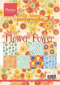 Pretty paper bloc Flower Power