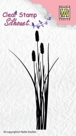 NS Silhouette clear stamps - Ears of grass-2 SIL003