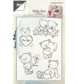 Joy! Clearstamp Teddyberen 6410/0460