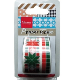 MD Paper Tape Christmas red/green PT2308