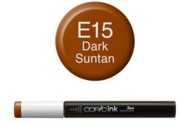 Copic Ink refill Dark Suntan E15