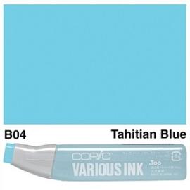 Copic Ink refill Tahitian Blue B04
