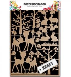 Dutch Craft Art Forest Animals 479.002.011