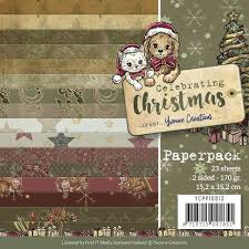 Paperpack Celebrating Christmas YCPP10013   15 x 15 cm