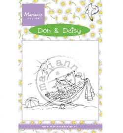 MD Clearstamp Don & Daisy Holiday app DDS3352