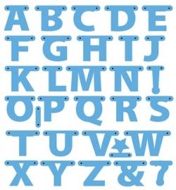 Creatables - Alphabet garland LR0340
