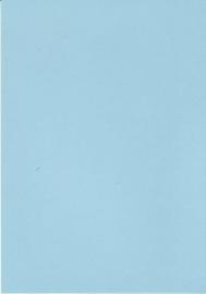 A5 Hobbykarton 200gr hemels blauw 10st linnen