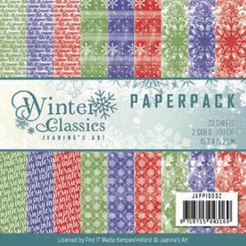 Paperpack Winter Classic Jap10002 15 x 15 cm