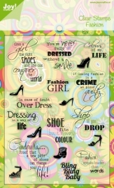 Joy! Stempel - tekst ENG fashion 6410/0065