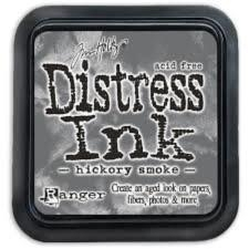 Distress ink Hickory Smoke