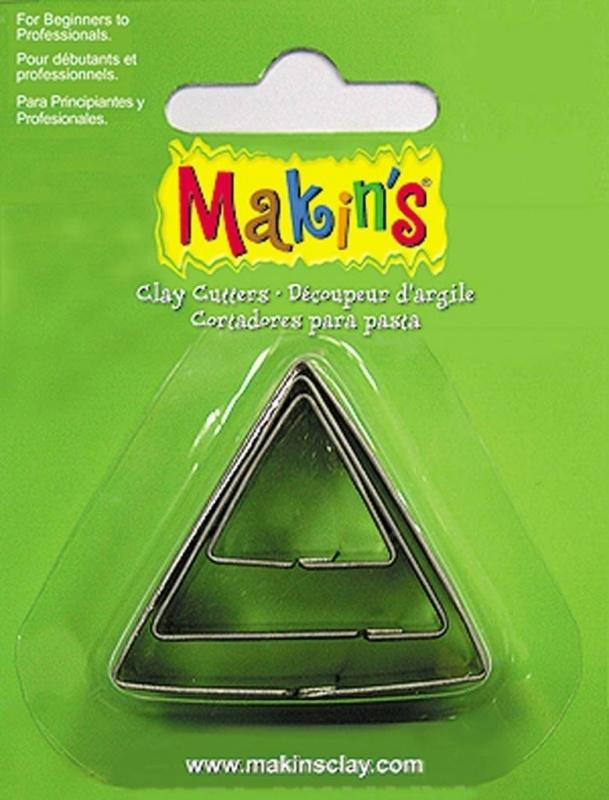 Makin's Clay Tin Cutter Triangle 3 PC Set (36003)
