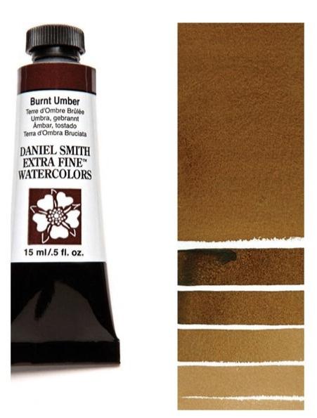 Daniel Smith Watercolour Burnt Umber 5ml