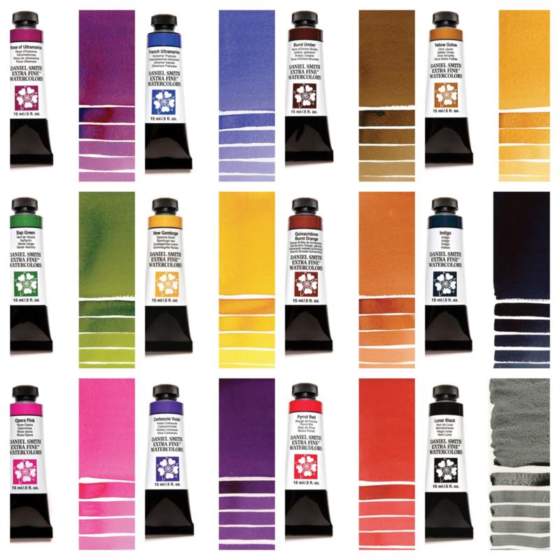 Daniel Smith Watercolour Designers Choice 2019 (12 x 5ml)