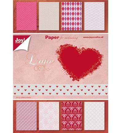 Joy!A5 Paper bloc, 21x15cm Love 6011/0082