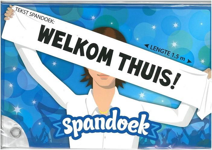 Spandoek Welkom Thuis