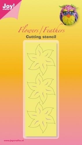 Joy! Noor! C & E stencil - bloem 6002/3004