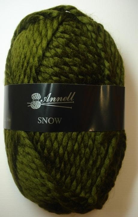 Annell Snow Kleur 3949 Donker groen