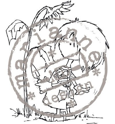 Clearstamp Don & Daisy DDS3323